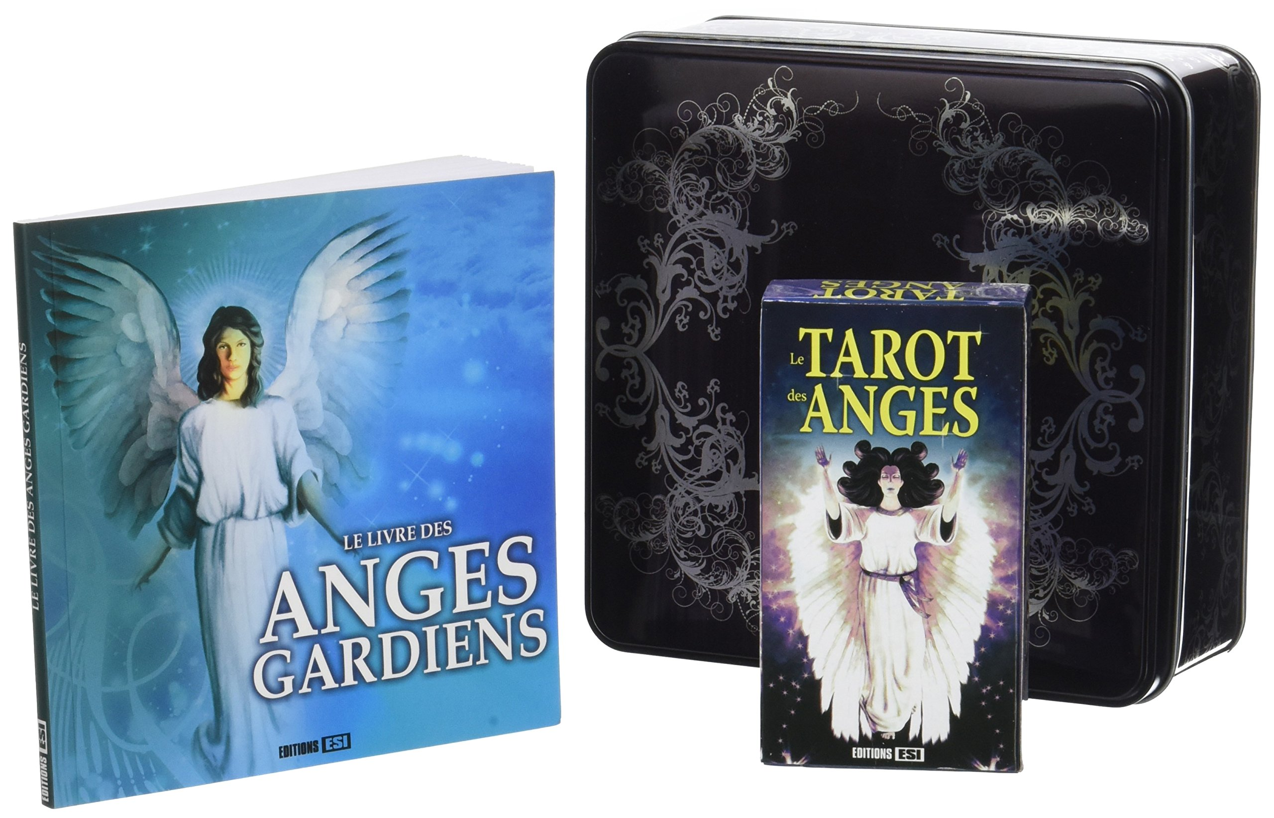 Le coffret des Anges : Les connaître, les comprendre, les contacter. Contient : 1 livre, 1 tarot des anges Coffret produits – 4 octobre 2017 Las Casas Editions ESI 2822605890 Anges/archanges