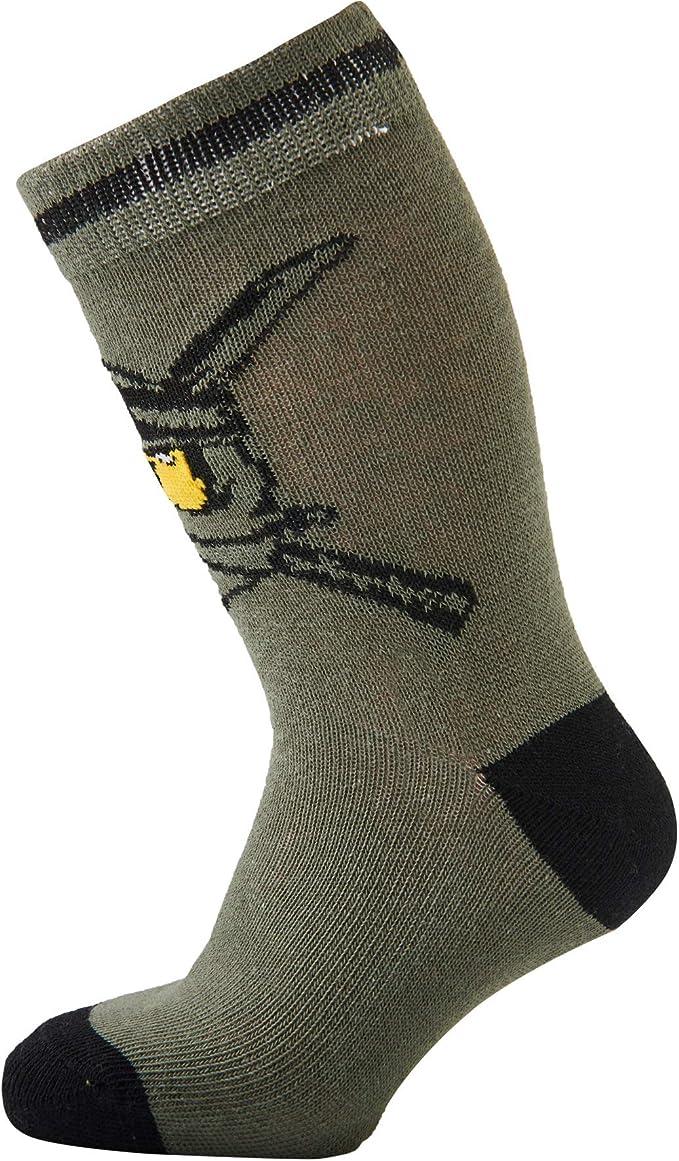 Lego Boys Cm Ninjago Calf Socks pack of 3