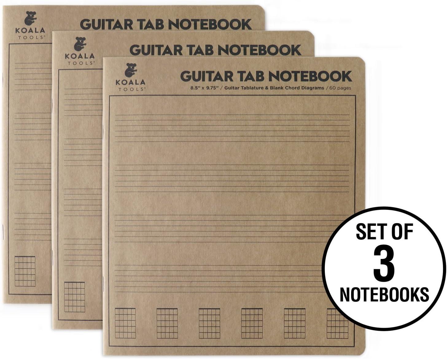 Koala herramientas | guitarra Tab portátil (Pack de 3): Amazon.es ...