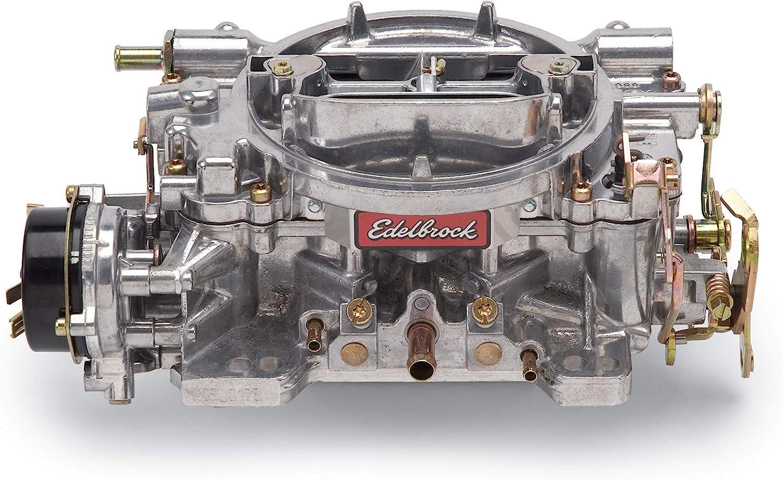 B000182DIS Edelbrock 1406 Performer 600 CFM Square Bore 4-Barrel Air Valve Secondary Electric Choke Carburetor 81k586iFx9L.SL1500_