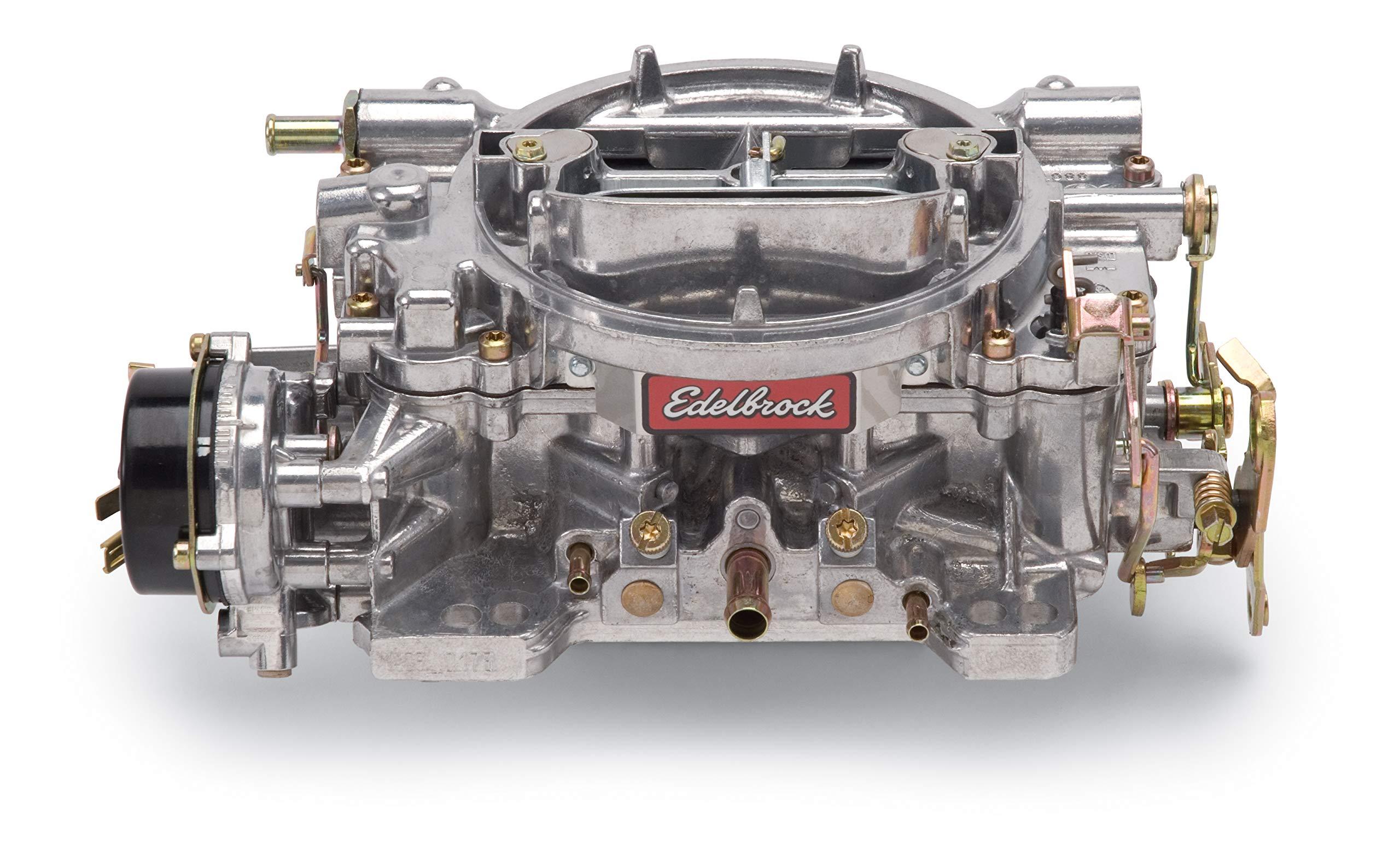 Edelbrock 1406 Performer 600 CFM Square Bore 4-Barrel Air Valve Secondary Electric Choke Carburetor by Edelbrock