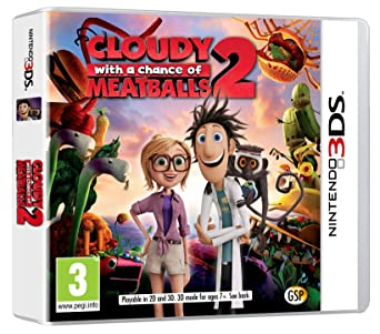 Cloudy with a Chance of Meatballs 2 (Nintendo 3DS): Amazon co uk: PC