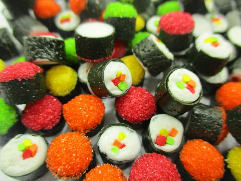 Dollhouse Food Supply 50 Japanese Food Salmon Tekkamaki Sushi Loose Food 14997