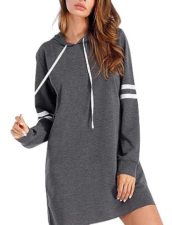 Flying Rabbit Damen Hoodie Damen Langarm Sweatshirt Damen Langarm Hoodies  Casual Herbst Kleid  Amazon.de  Bekleidung 95d898c93c