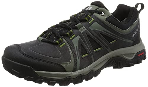 Salomon Mens Evasion GTX Low Trekking and Walking Shoes Black Size: 10.5 UK