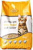 Feline First 50490 Premium Pine Wood Cat Litter 4 kg