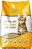 Feline First Premium Pine Wood Cat Litter 4 kg