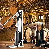 O2 Tech Wine Corker Manual Corking Brew Cap