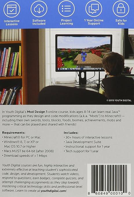 Amazon Youth Digital Mod Design 1