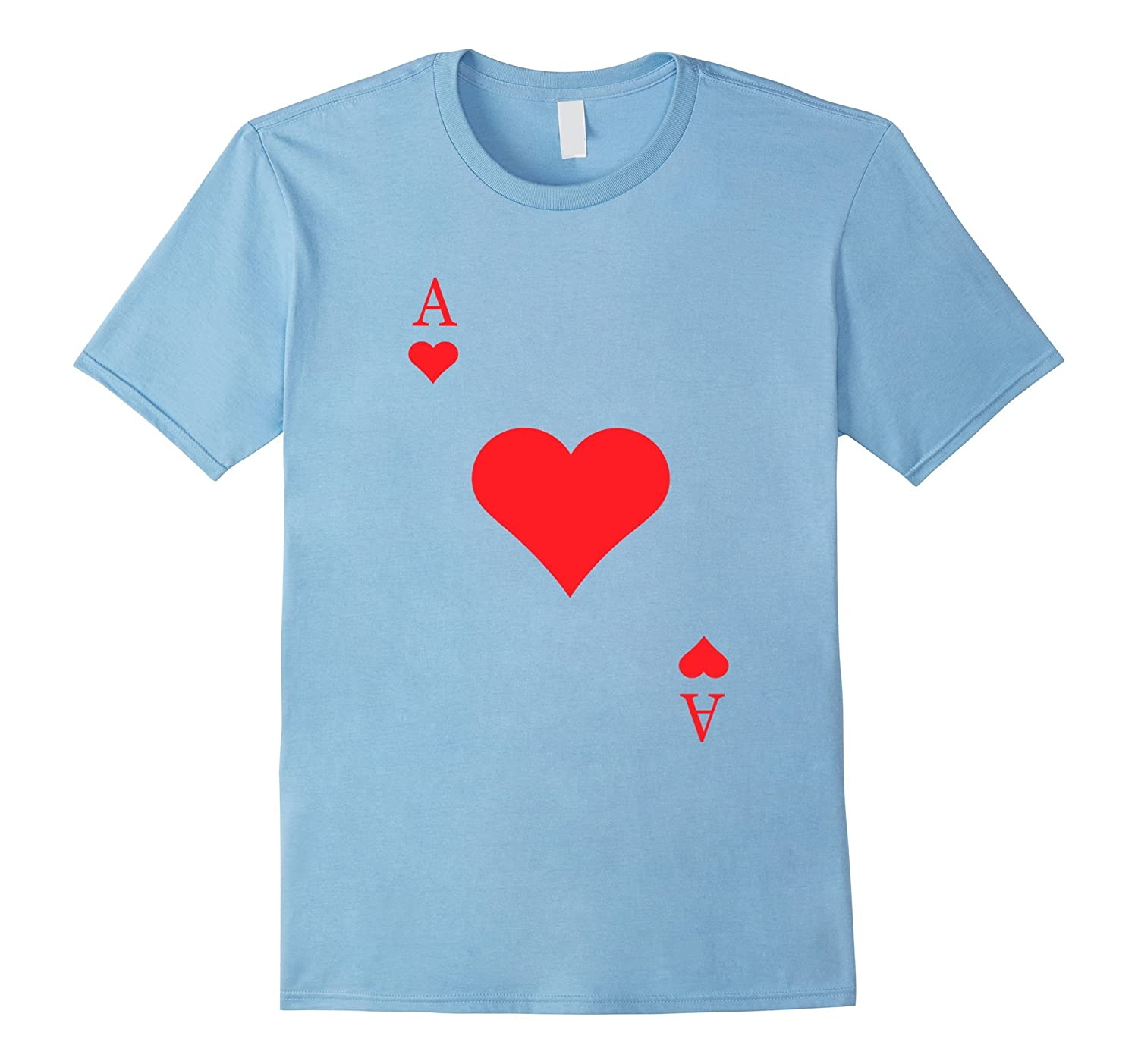 Ace Of Hearts Costume Shirt - Funny Halloween Gift Tshirt-ANZ