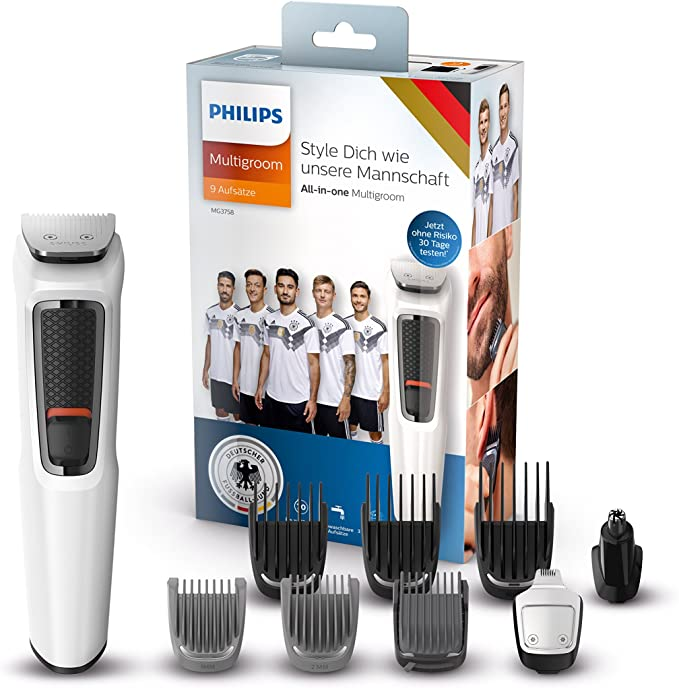 Philips MULTIGROOM Series 3000 MG3758/15 cortadora de pelo y ...
