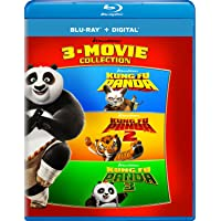 Kung Fu Panda: 3-Movie Collection on Blu-ray