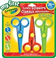 Crayola My First Safety Scissors, Art Supplies for Toddlers, for Girls and Boys, Gift for Boys and Girls, Kids, Ages 3, 4, 5,6 and Up, Holiday Gifting, Stocking , Arts and Crafts,  Gifting
