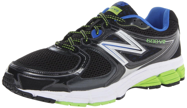 New Balance M680bb2 - Zapatillas de running Hombre 48 EU|Negro - Negro/Azul