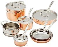 Cuisinart CTP-11AM Copper Tri-Ply Cookware Set