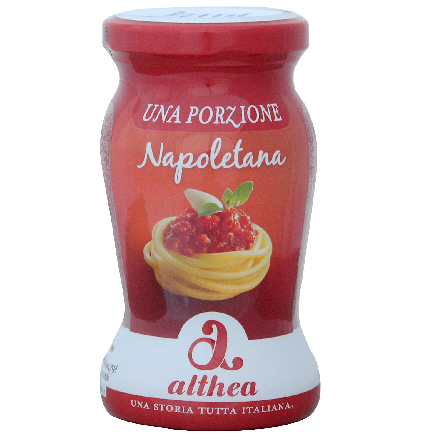 Amazon.com : Althea Napoletana Sauce - single portion - 4.2 oz - 12 Pack : Grocery & Gourmet Food