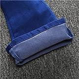 Little Girls' Skinny Bell-Bottom Girl Blue Jeans