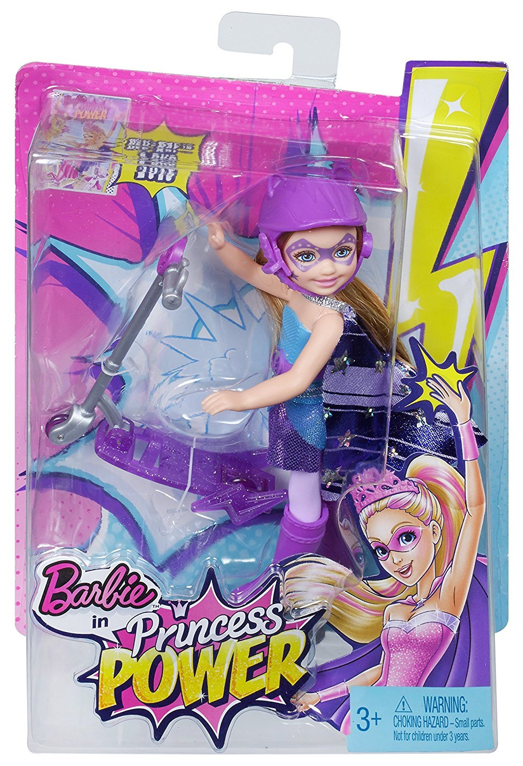 Barbie in Princess Power Scooter Doll: Kira