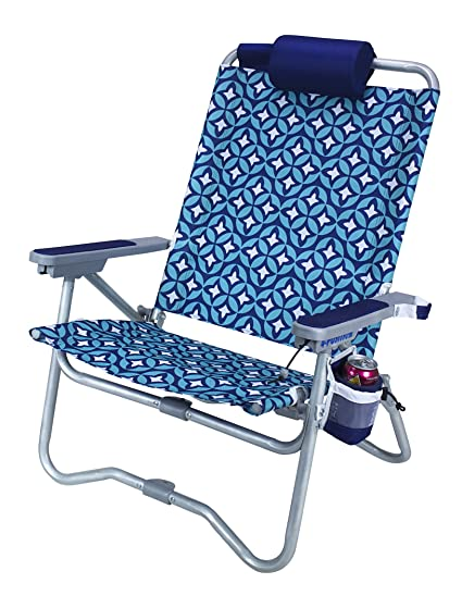 Superbe GCI Outdoor Waterside Bi Fold Reclining Beach Chair With Pillow Headrest,  Laguna