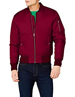 19a4883a942c Urban Classics Herren Bomber Jacke Light Jacket  Amazon.de  Bekleidung