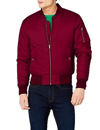 size 40 e0bb5 42ce2 Urban Classics Herren Basic Bomber Jacket Jacke