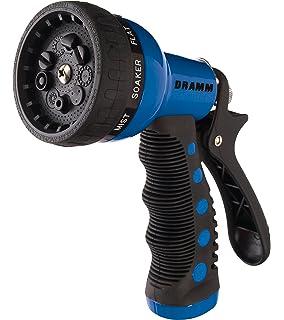 Good Dramm 12705 9 Pattern Revolver Spray Nozzle, Blue
