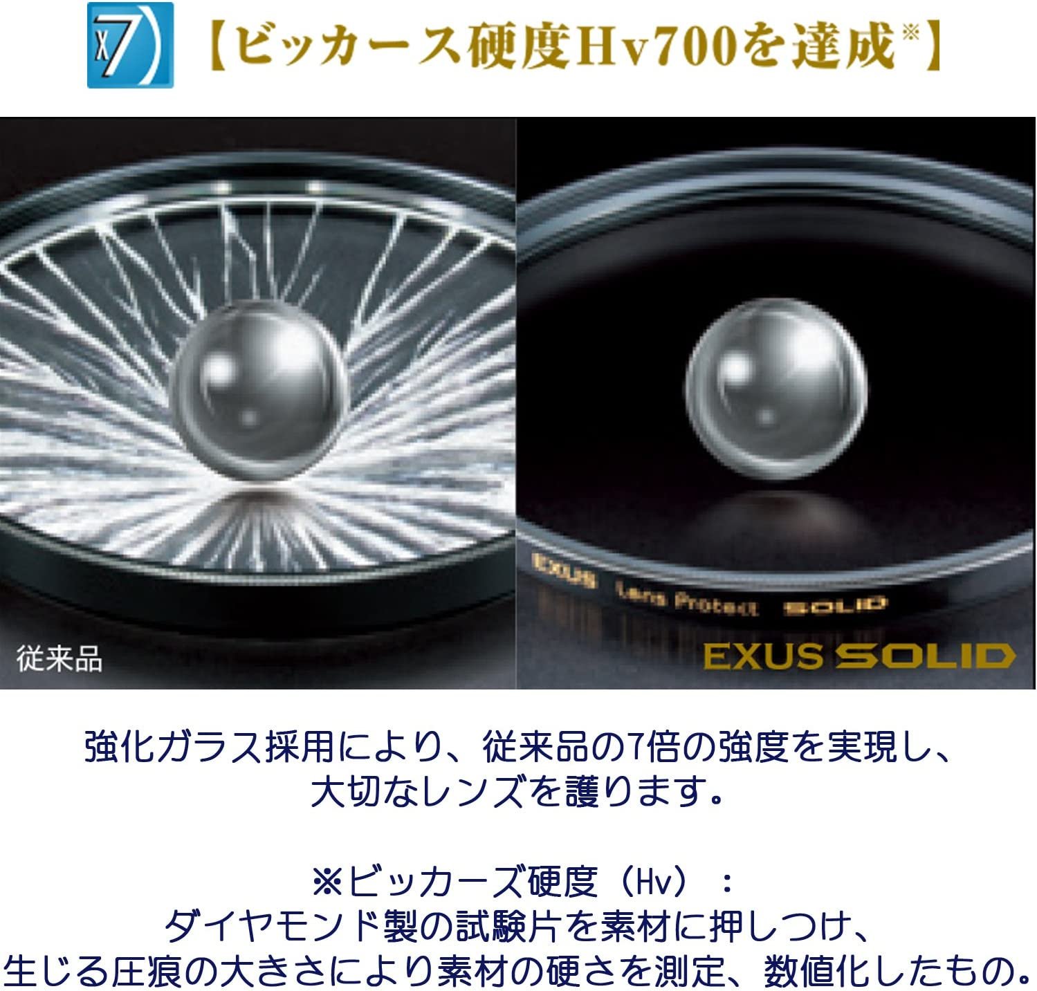 Marumi EXUS SOLID 62mm Lens Protect Filter