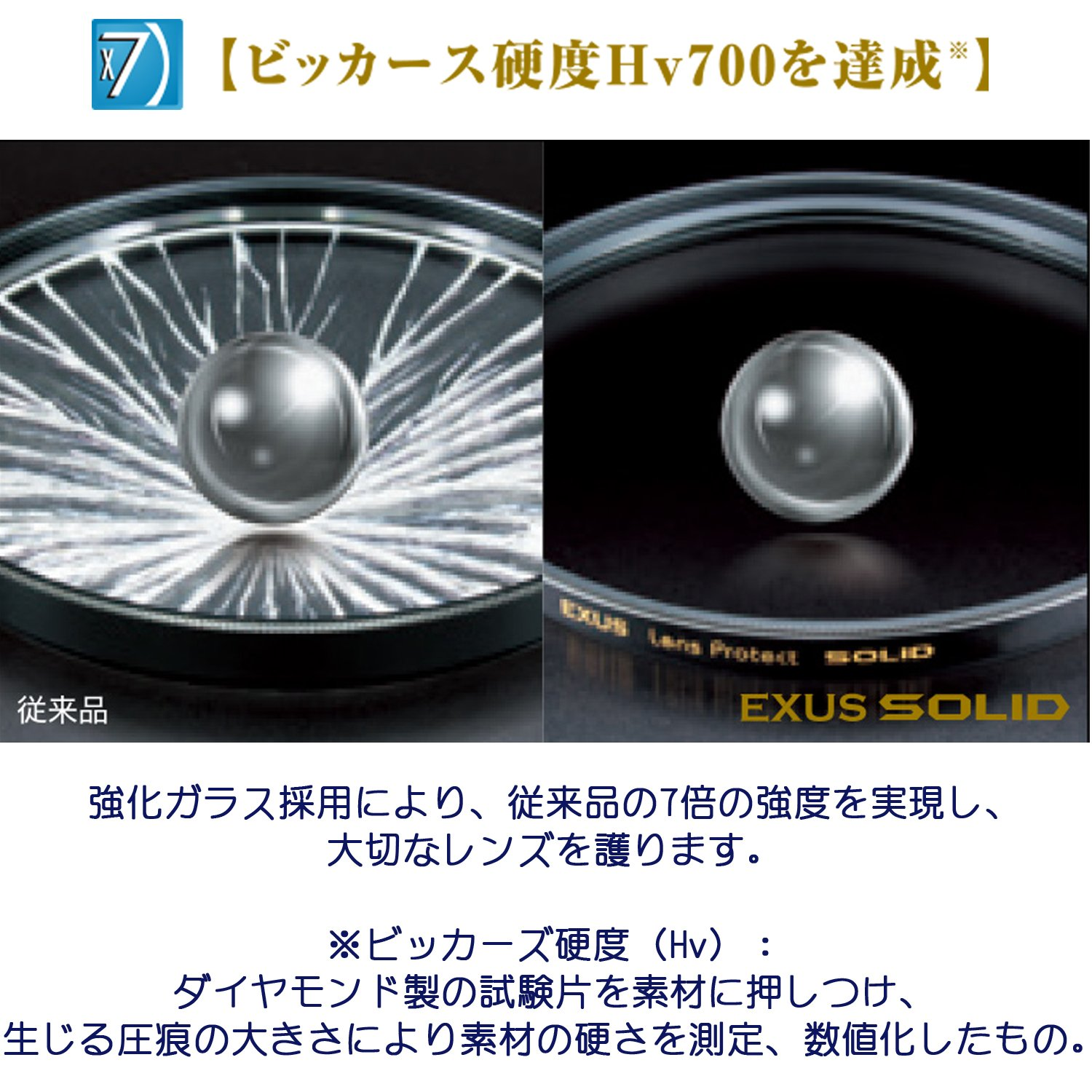 Marumi EXUS SOLID 82mm Lens Protect Filter Anti-Static Hard Coated 82 Made in Japan ''7 X Stronger'' by Marumi (Image #3)