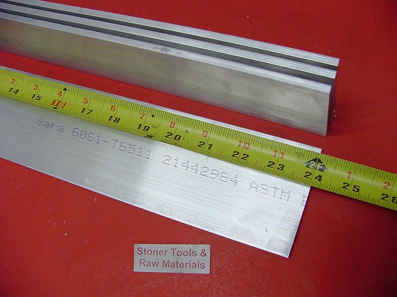 4 Pieces 1//2 X 3-1//2 ALUMINUM 6061 FLAT BAR 24 long T6 .500 Solid Mill Stock