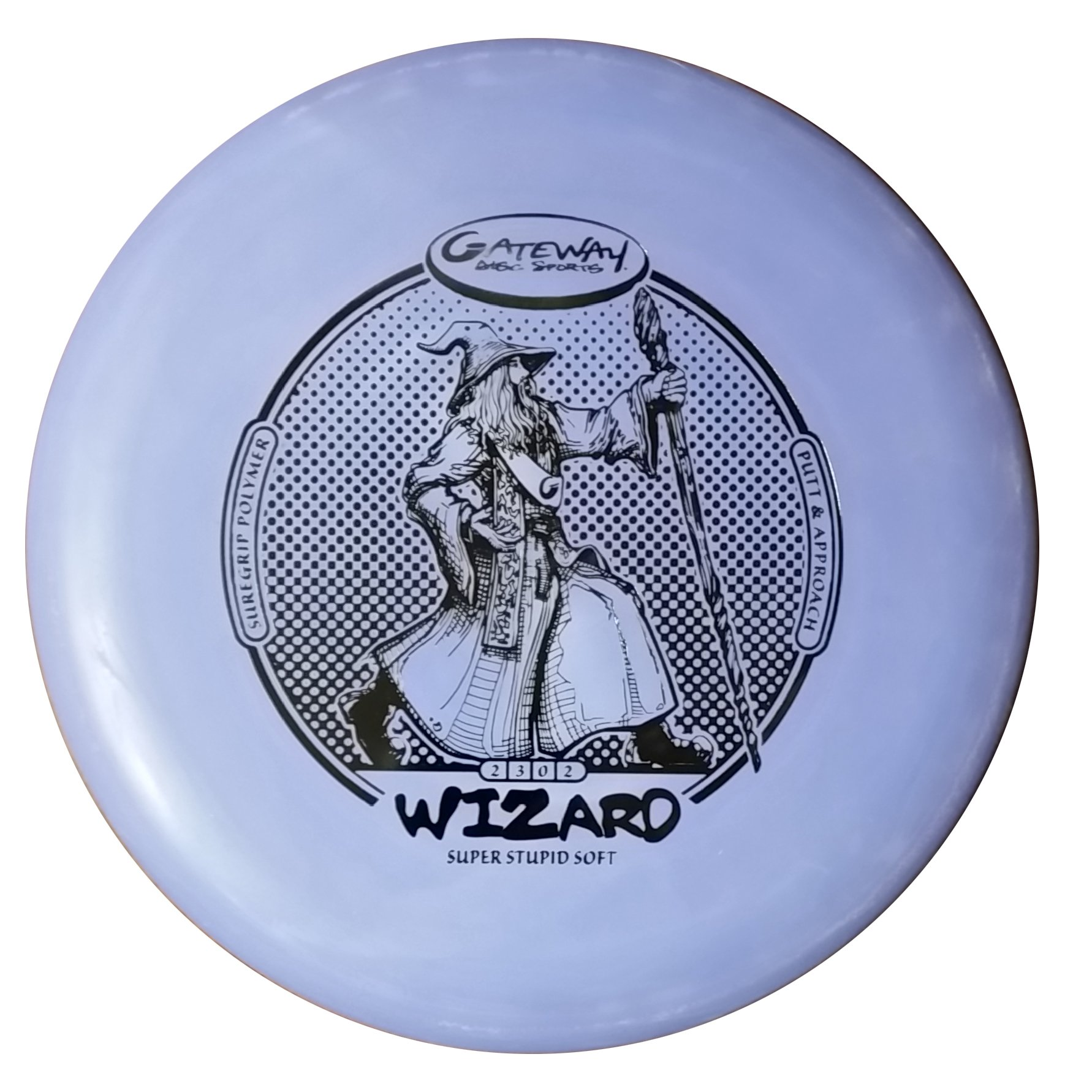 Gateway Disc Sports Sure Grip S Super Stupid Soft Wizard Putter Golf Disc [Colors may vary] - 160-169g