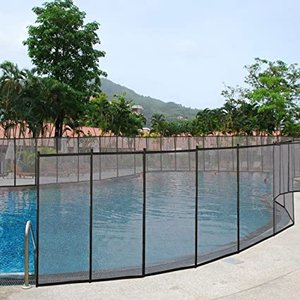 Amazon.com : Giantex 4\'x48\' In-Ground Swimming Pool Fence Child ...