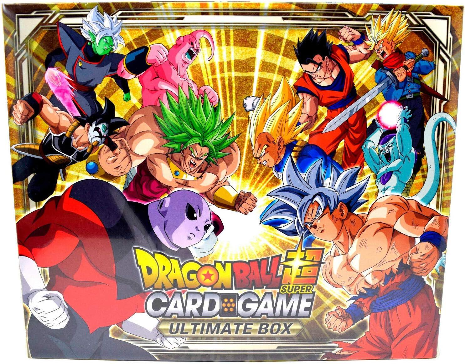 Free shipping! 2018 Dragon Ball Super Bandai TCG Ultimate Box Set CARDS ONLY