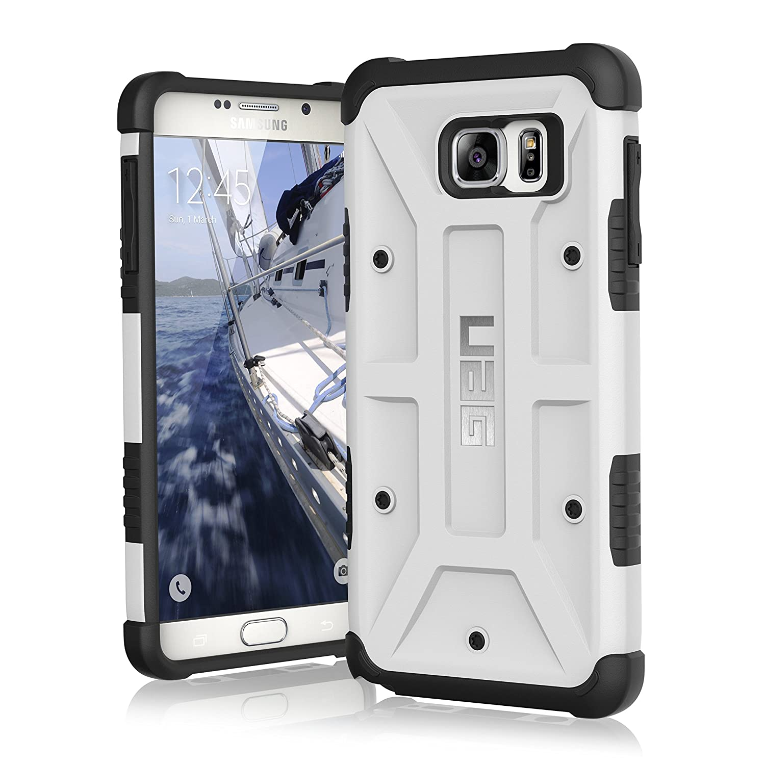 official photos 238d6 f43ed UAG Samsung Galaxy Note 5 Feather-Light Composite [WHITE] Military Drop  Tested Phone Case