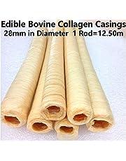 Edible Bovine Collagen Casings 28mm in Diameter Total Lenght 12.50M / 41 Ft (1, 41Ft / 12.50m)