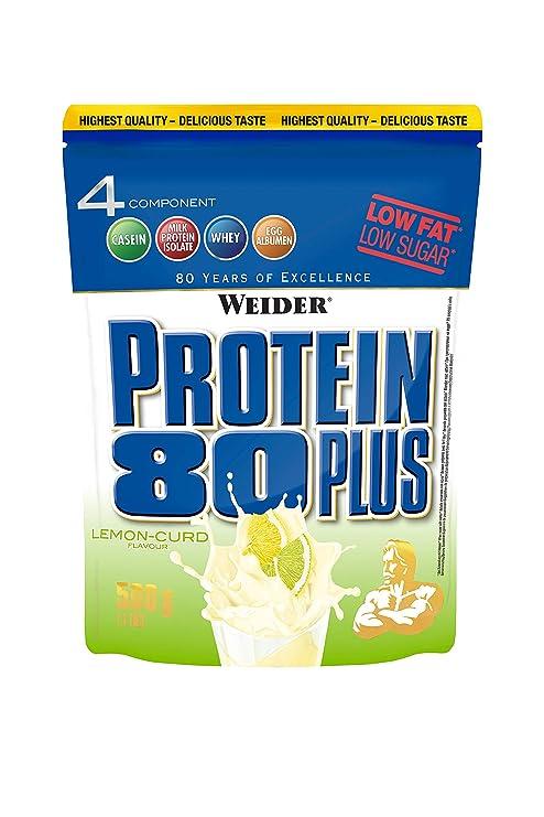 Weider Protein 80 Plus Queso Fresco Limón - 500 gr