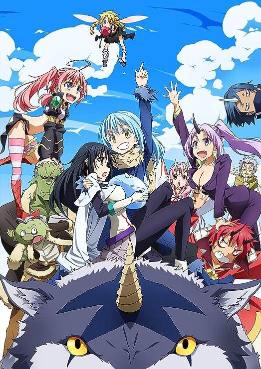 "Amazon.com: 12"" x 17"" Tensei shitara Slime Datta Ken - That Time I Got  Reincarnated as a Slime Anime Poster: Posters & Prints"