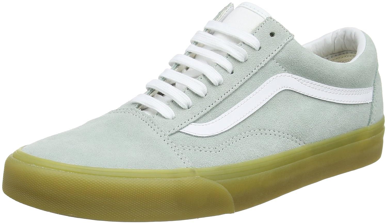 Vans Old Skool, Zapatillas Unisex Adulto 34.5 EU Verde (Double Light Gum)