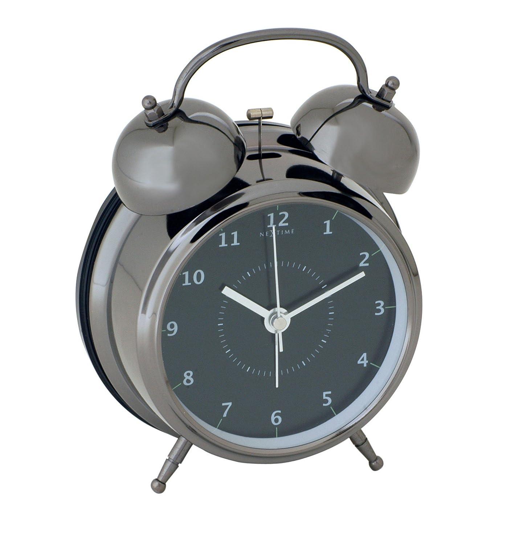 NEXTIME 目覚まし時計 Wake Up Black S 5111zw B000TS2WVS