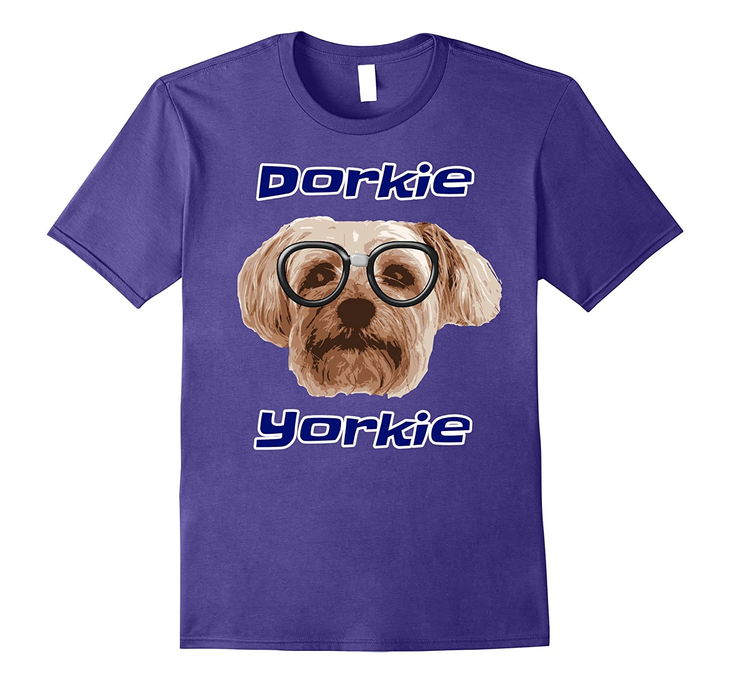Yorkie Dorkie Yorkshire Terrier Lover T-Shirt Dog Nerd Gift-Art