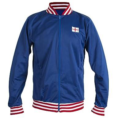 56a4c70fcc6 England 1966 Retro Football Jacket Classic Vintage Tracksuit Jumper Man  Top-Replica