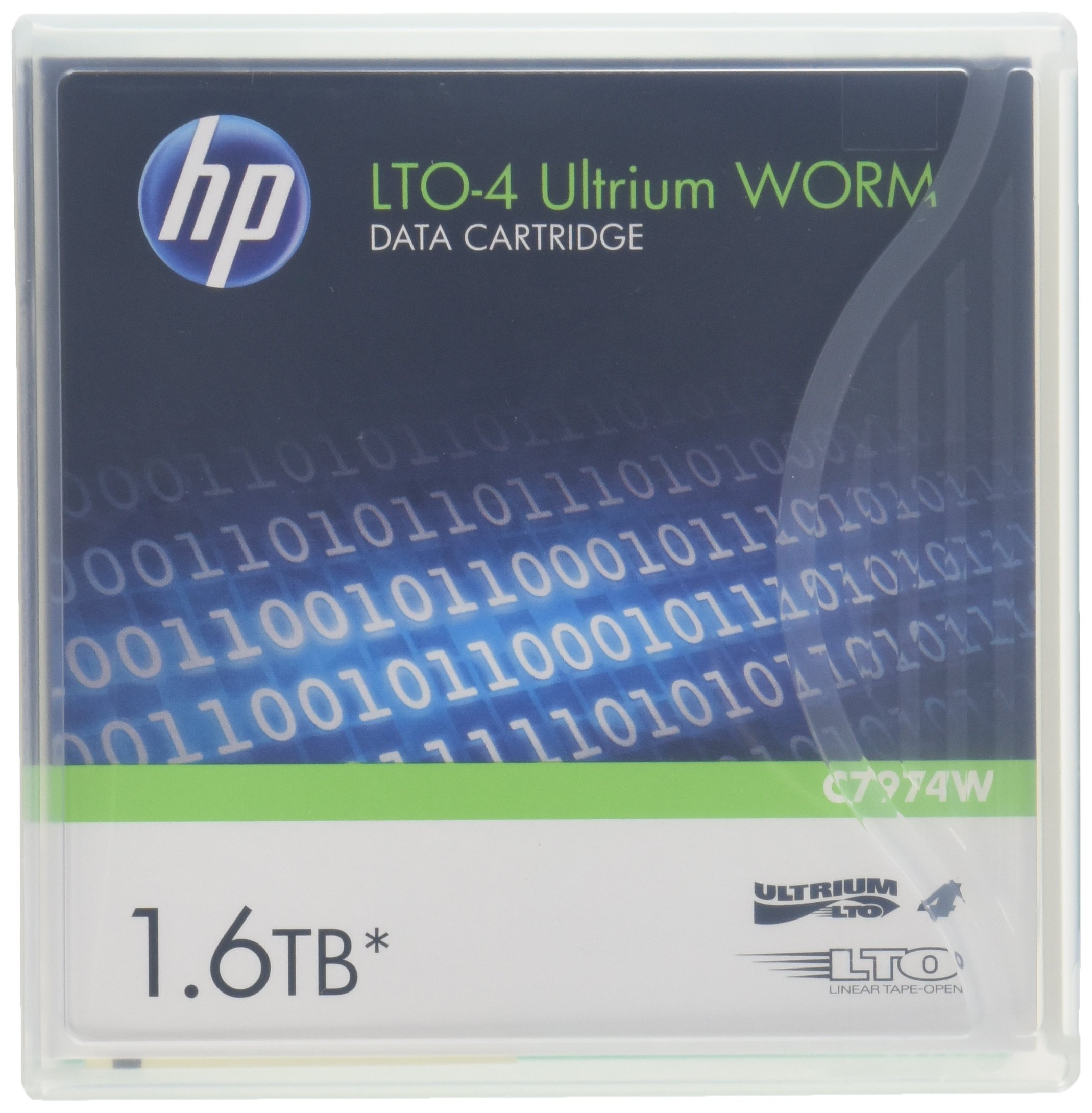 Data Cartridge Hp Ultrium Lto-4 1.6tb (c7974w