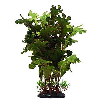 ZAZALUM - Plantas plásticas artificiales para decoración de acuarios y peceras: Amazon.es: Productos para mascotas