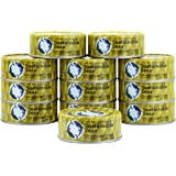 Sustainable Seas, Chunk Light Tuna in Water, 5 Ounce, 3rd party mercury tested, 100% sustainably caught (Pack of 12)