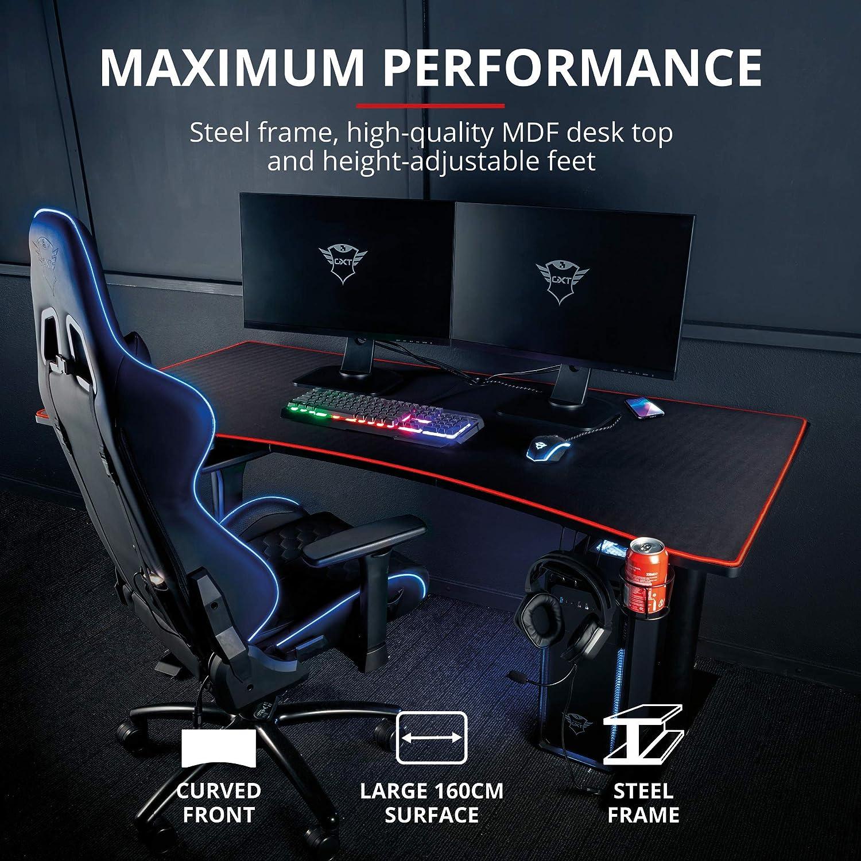 Trust Mesa para Gaming XXL GXT 1190 Magnicus - Mesa Ordenador ...