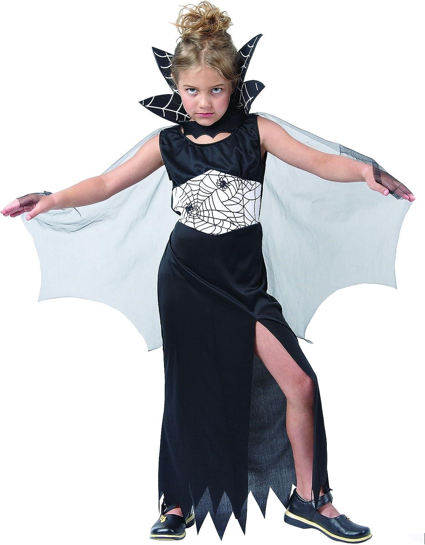 Disfraz de bruja de las arañas para niña, ideal para Halloween ...