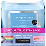 Neutrogena Makeup Remover Cleansing Face Wipes, Daily Cleansing Facial Towelettes Remove Waterproof Makeup & Mascara, Special
