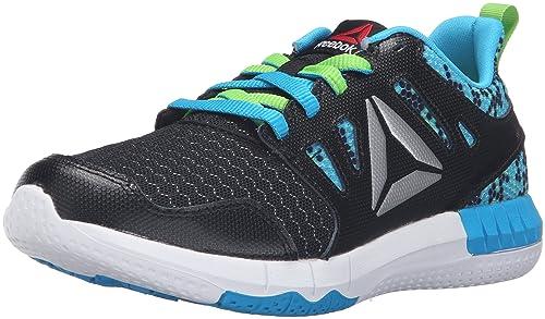 Reebok Zprint 3D MTL-K Track Shoe Black Semi Solar Green White 2.5 c1273ce3d