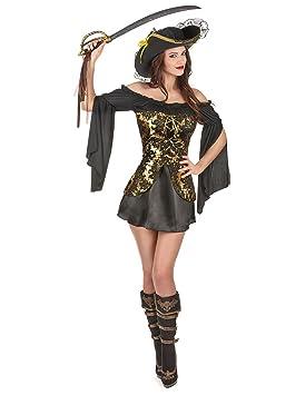 Disfraz de pirata mujer M / L: Amazon.es: Juguetes y juegos