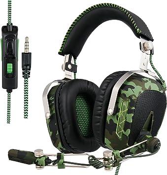 SADES actualizado Gaming Headset SA926T Auriculares PS4 estéreo ...