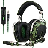 SADES SA926 Gaming Headset Stereo Wired Over Ear Headphones with Mic for PC/PS3/PS4/Xbox One/Xbox 360/Phone/Mac/Laptop by EMMETTS